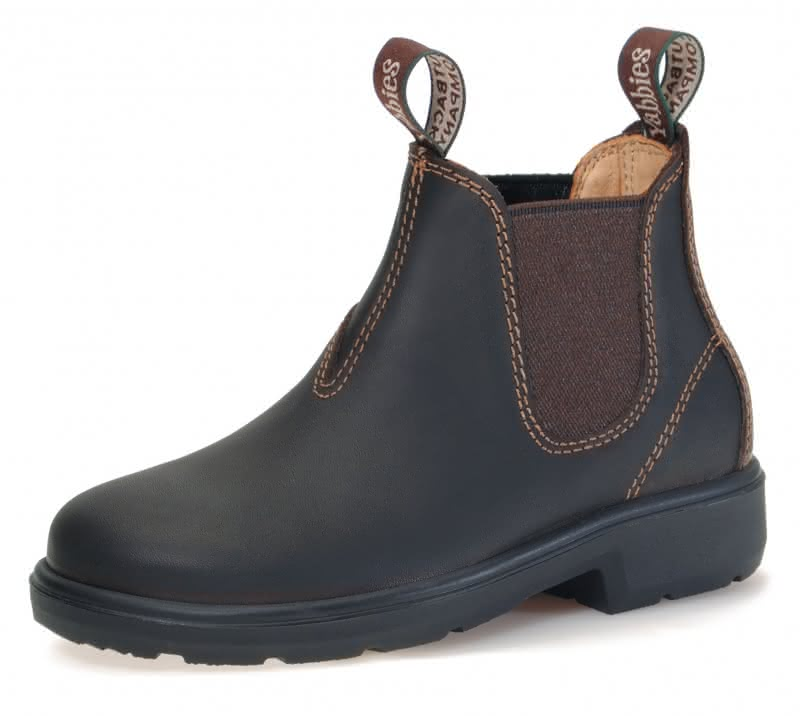 Yabbies Kinderstiefel Dark Brown